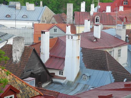 Alstadt Tallinn, Blick auf die Dächer.