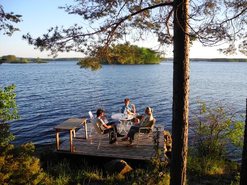 Abendbrot am Kallavesi
